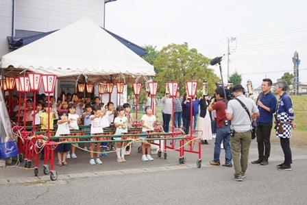 西大通り振興会 5きげんテレビ取材