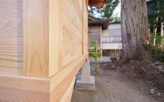 八坂神社 御堂 外壁