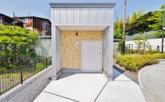 トイレ新築の正面イメージ