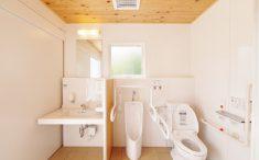 トイレ設備正面の写真