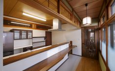 妙庵 和風 対面キッチン