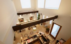 美容室WinK 2階からの風景